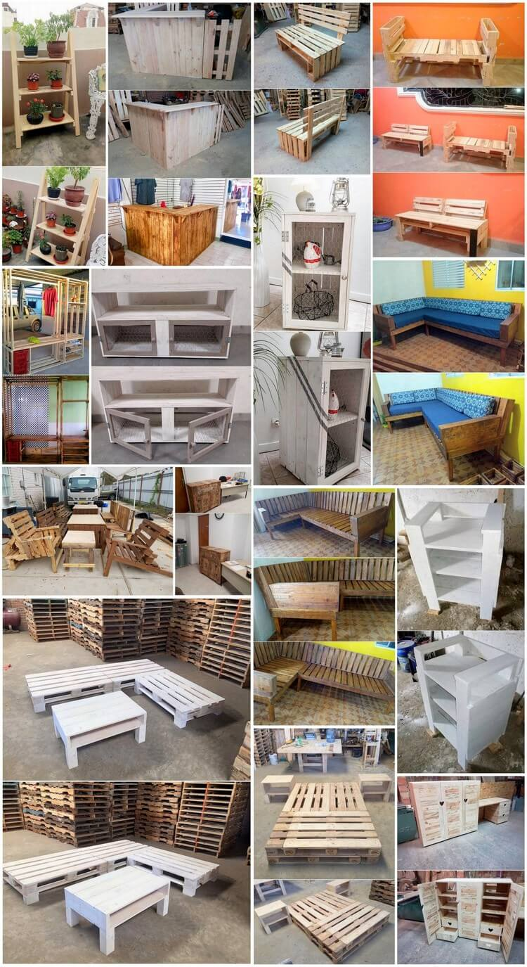 Low Cost DIY Pallet Ideas You Will Like to Follow