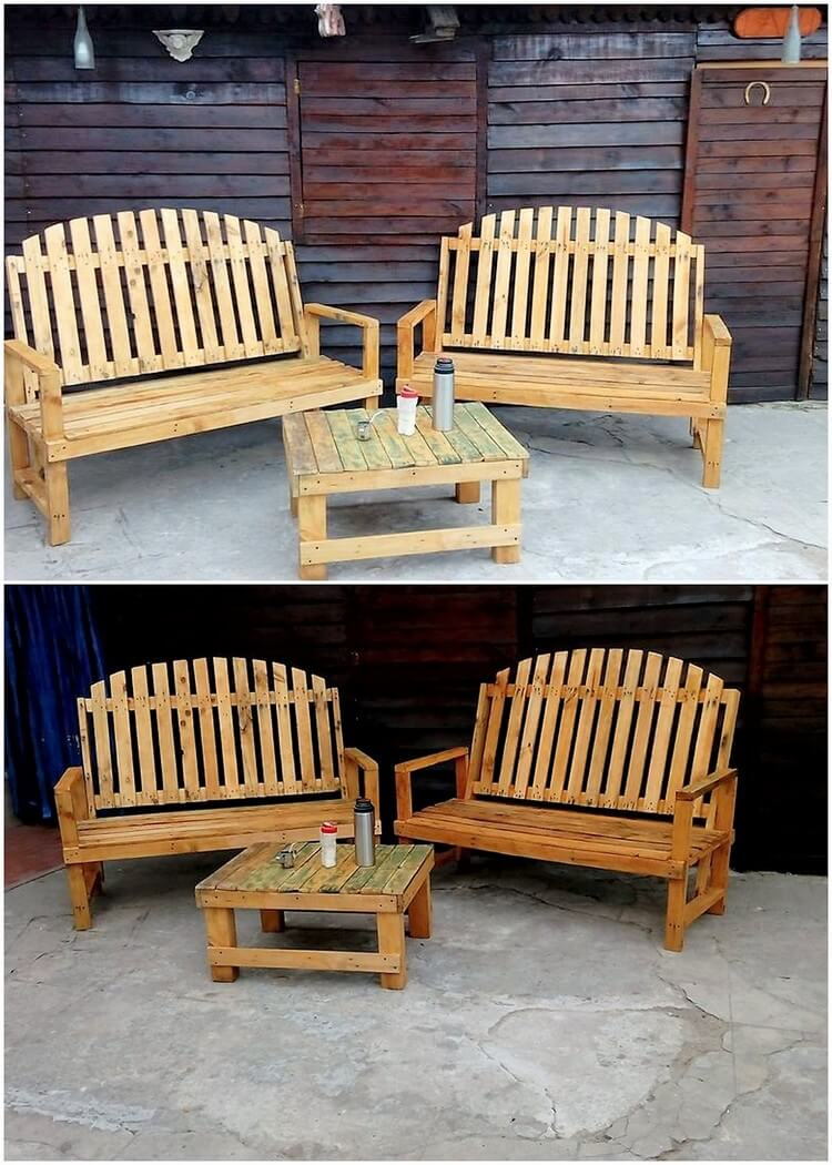 Fresh and cool diy wooden pallet ideas pallet wood projects for Cool ideas for wooden pallets