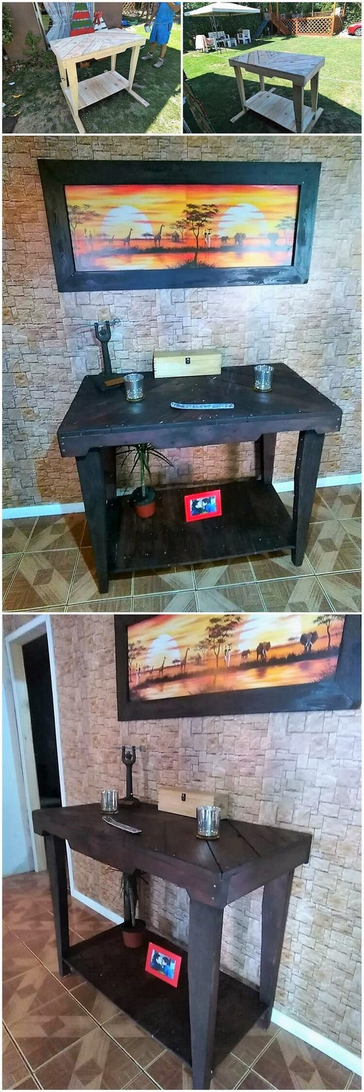 Great ideas out of shipping wood pallets pallet wood for Great pallet ideas