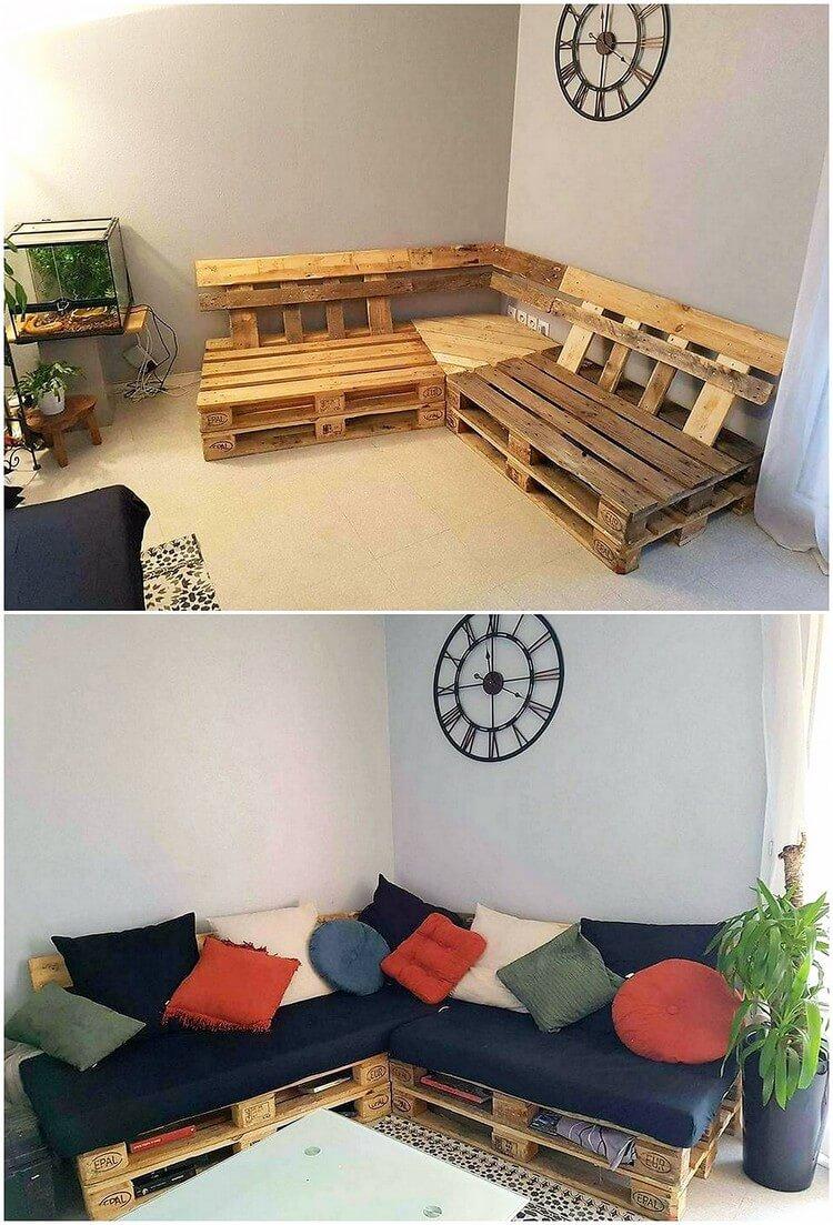 Ehrfürchtige DIY hölzerne Paletten-Ideen, zum Ihres Hauses zu ...