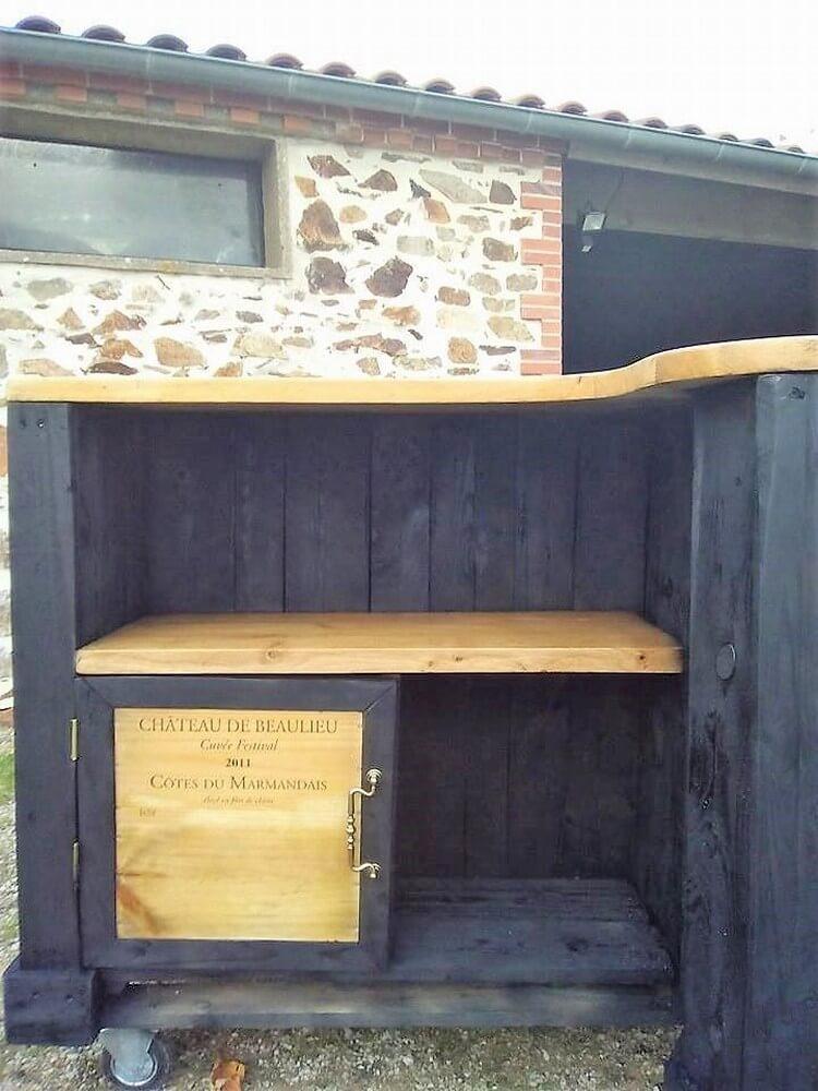 Pallet Counter Table Idea