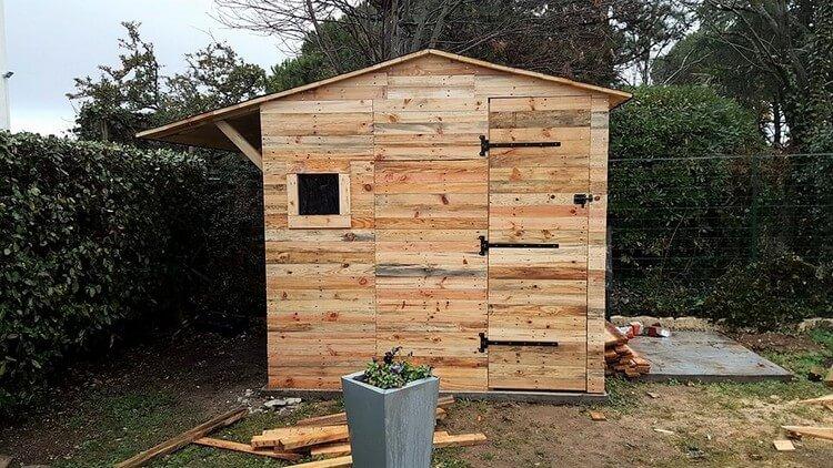 Pallet House Plan