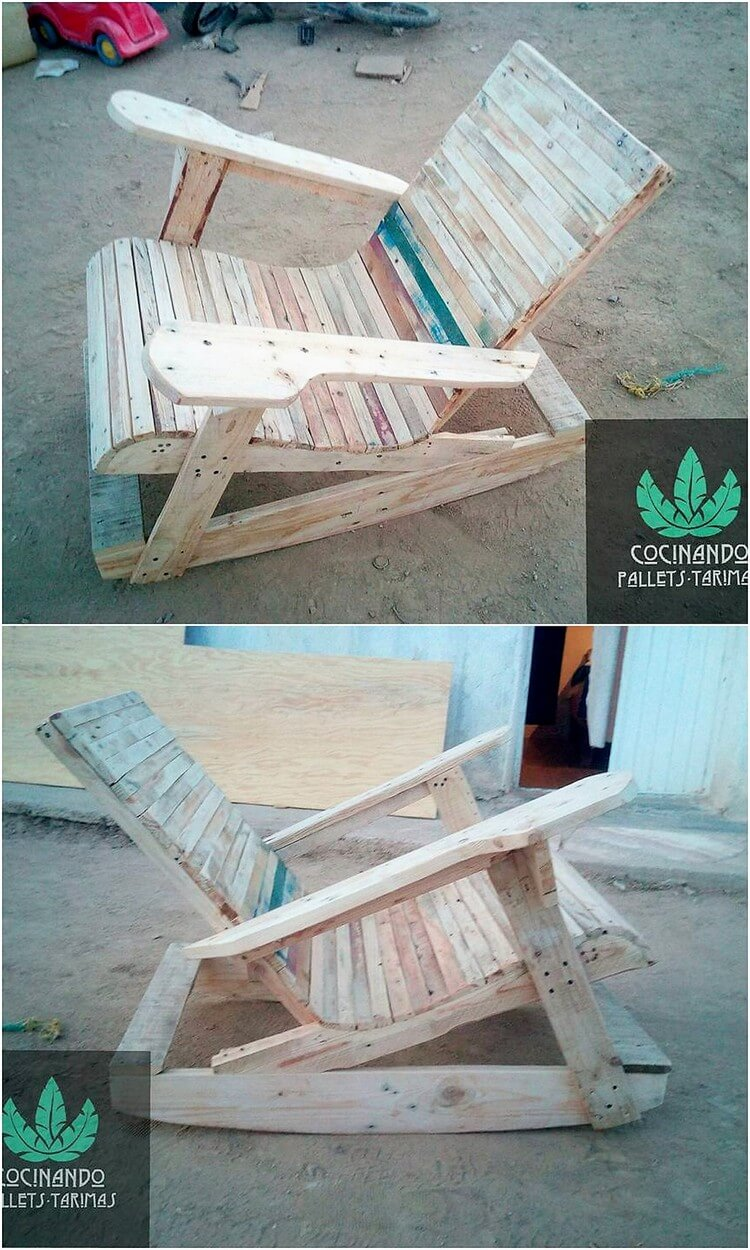 Pallet Rocking Chair