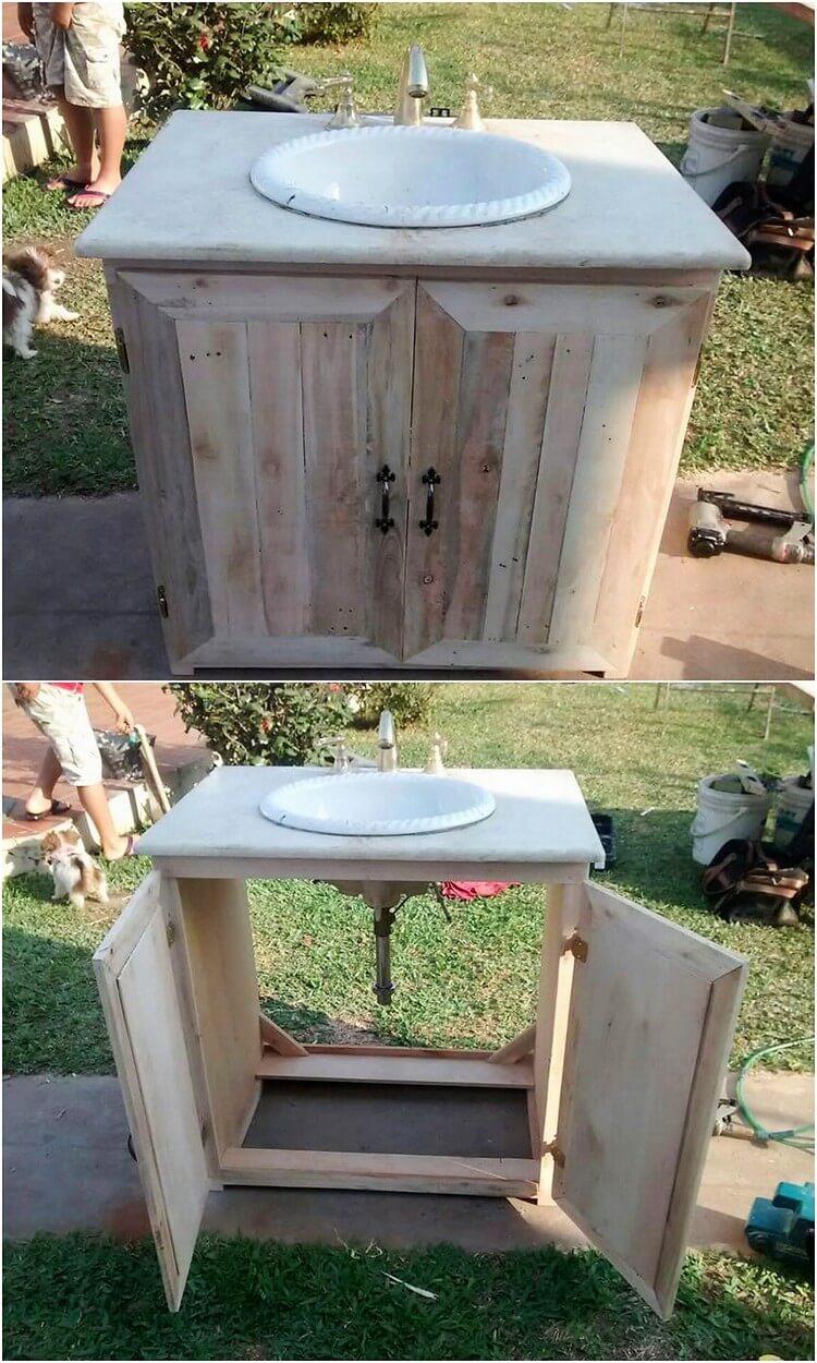 Pallet Sink