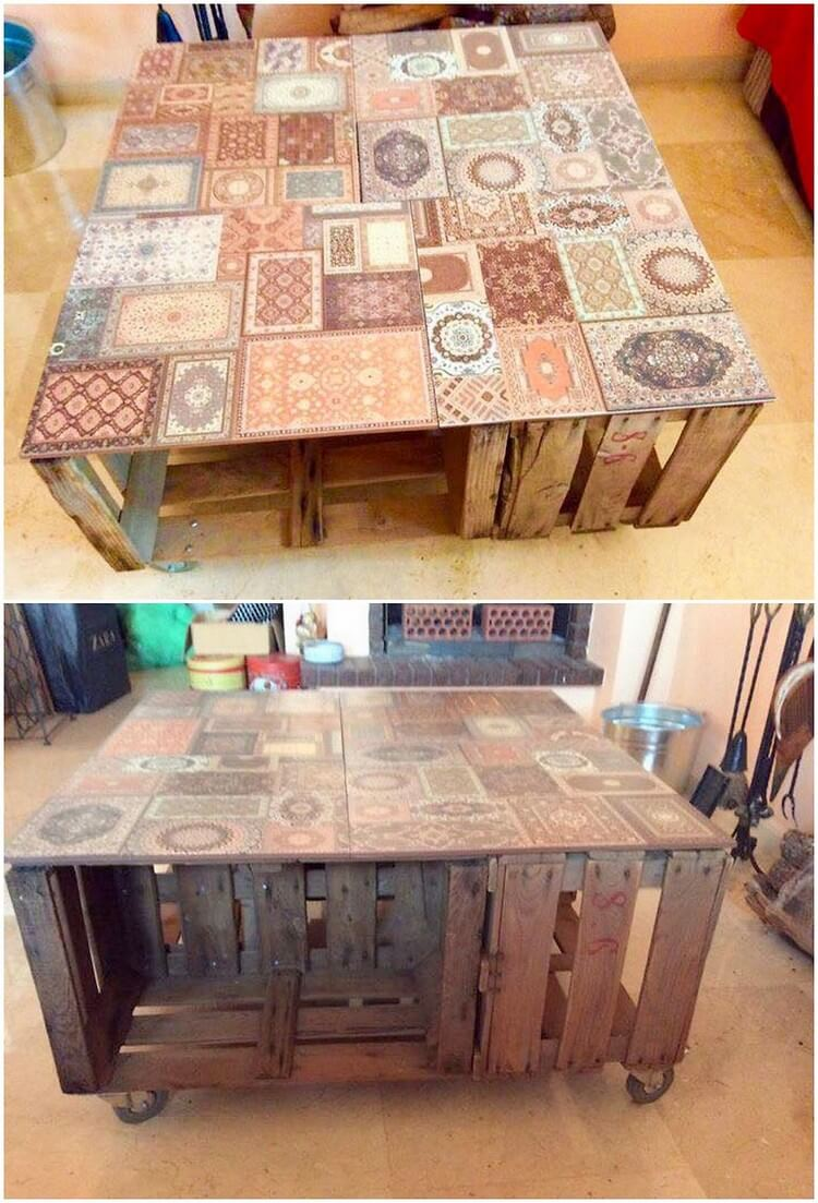 Easy and smart ways to recycle used wood pallets pallet for Ways to recycle wood