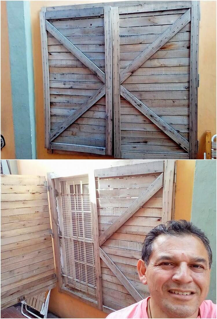 Pallet Window