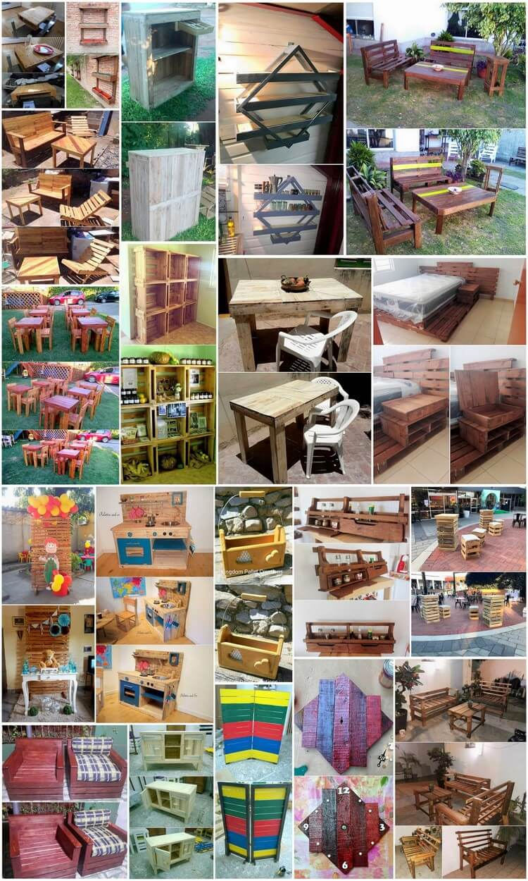 Some Fantastic Examples for Wooden Pallet Recycling