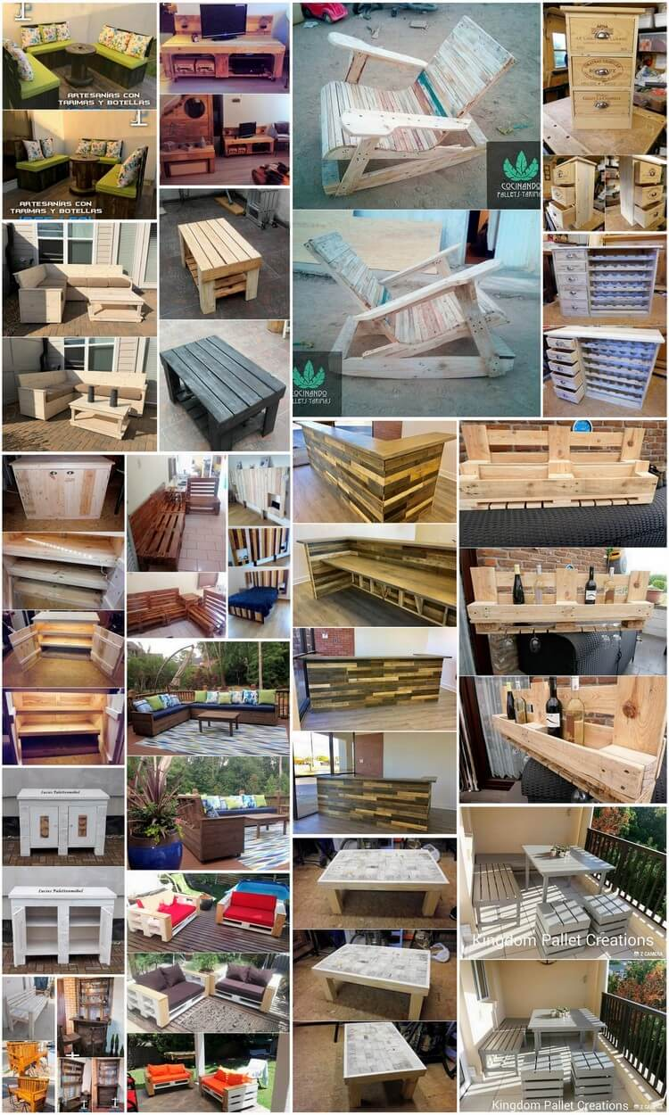 Stunning Achievements with Wasted Shipping Wood Pallets