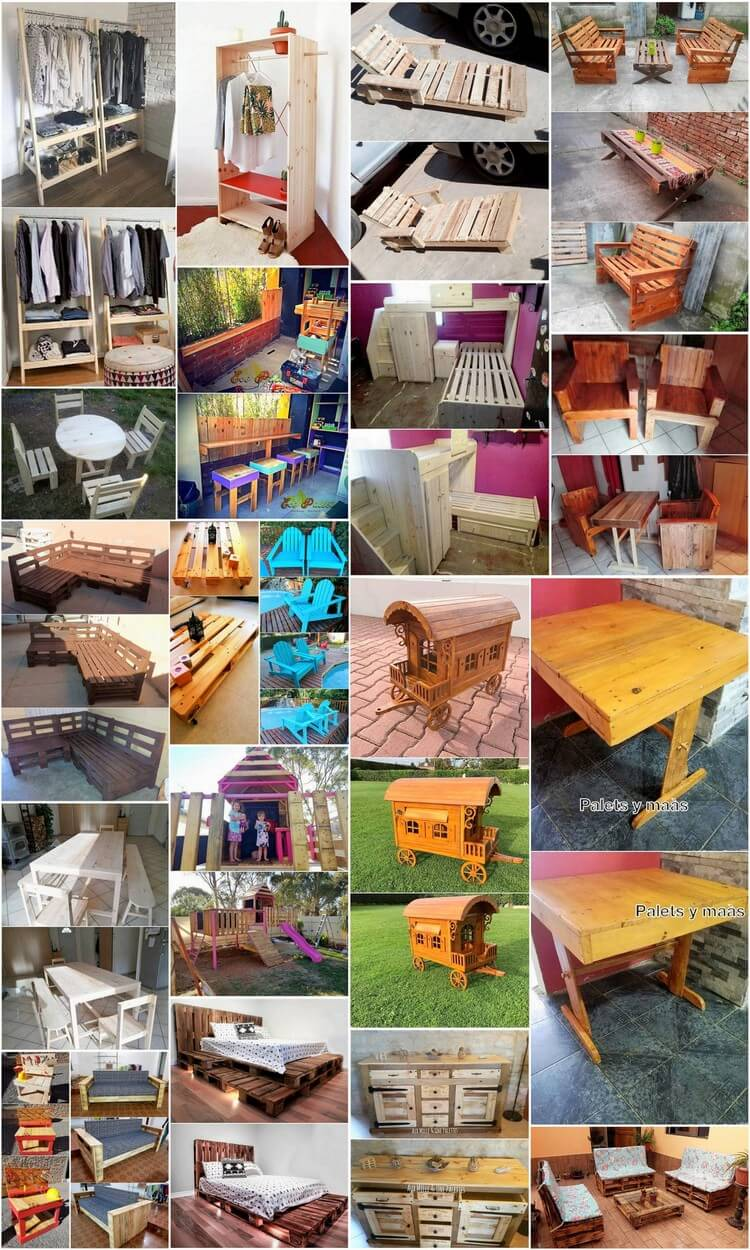Cheap Ways to Help Utilize Extra, Unused Pallets