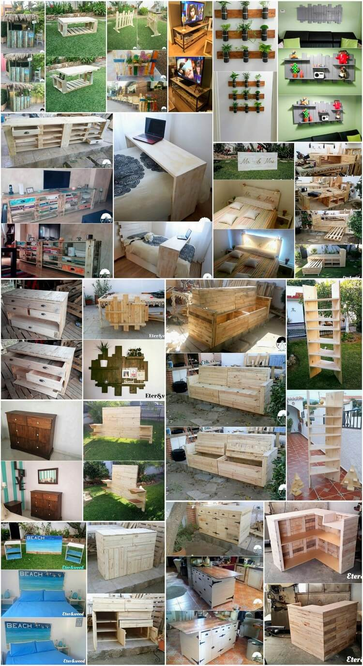 Creative Recycling Ideas with Old Wooden Pallets