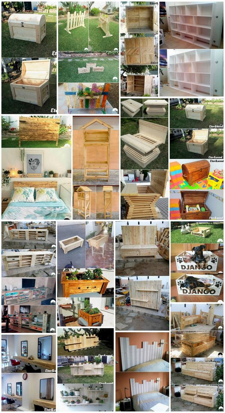 Functional and Easy to Build Wood Pallet Projects