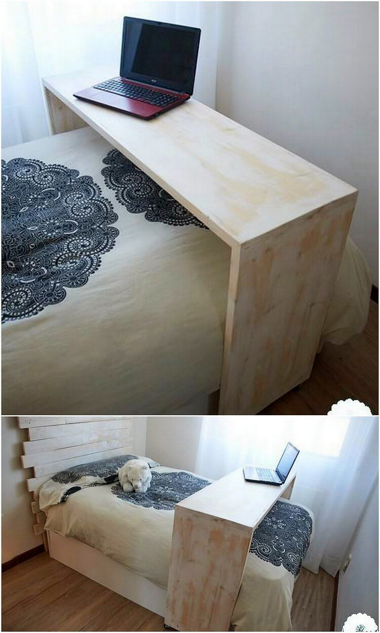 Pallet Laptop Table or Stand