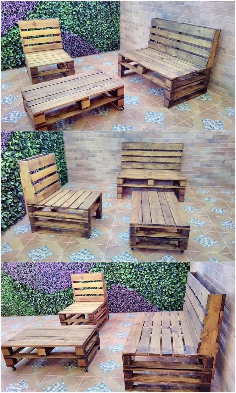 Amazing ideas made with repurposed wooden pallets pallet for Repurposed pallet projects