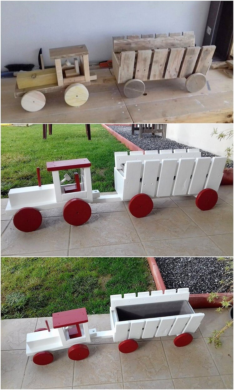 Pallet Tractor Creation for Kids