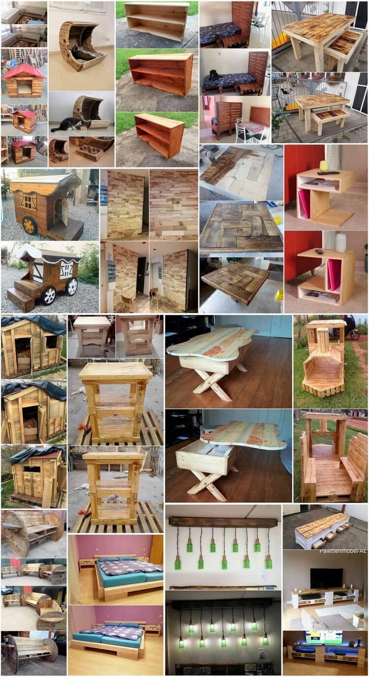 Splendid DIY Recycled Wood Pallet Creations