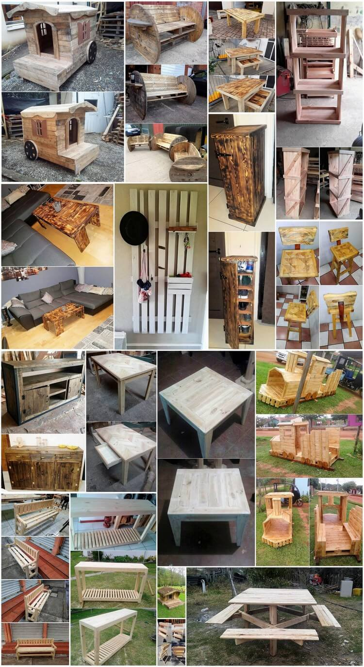 Useable Wood Pallets Recycling Ideas