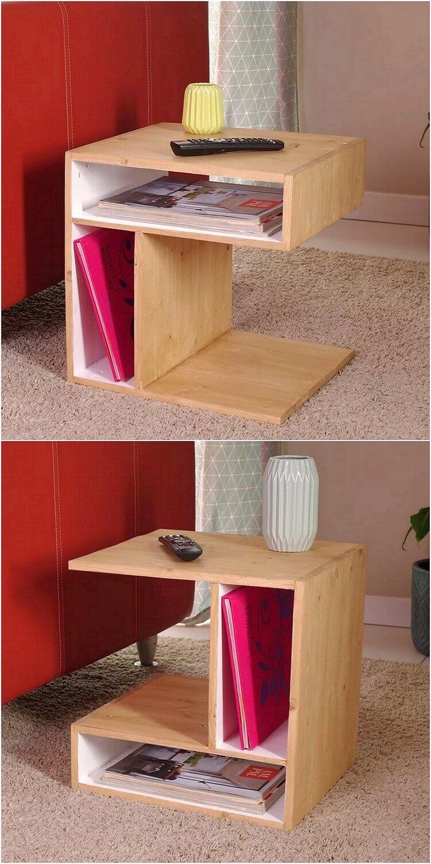 Wood Pallet Unqiue Table