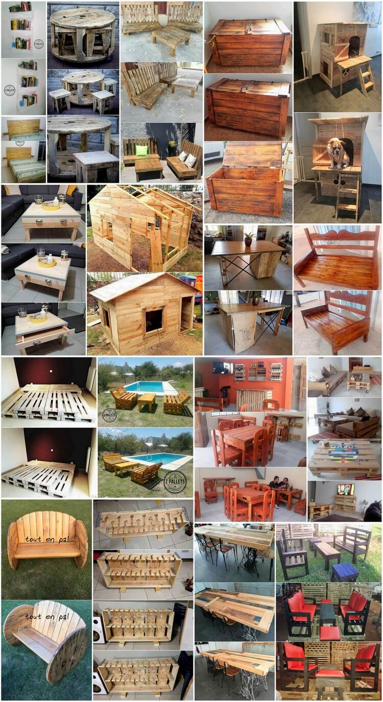 Fascinating Ideas for Upcycling Old Pallets