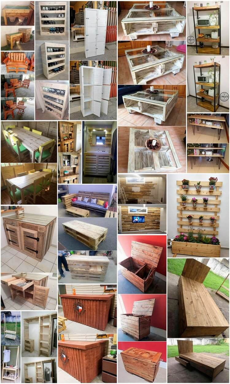 Incredible Ideas for Reusing Old Wood Pallets