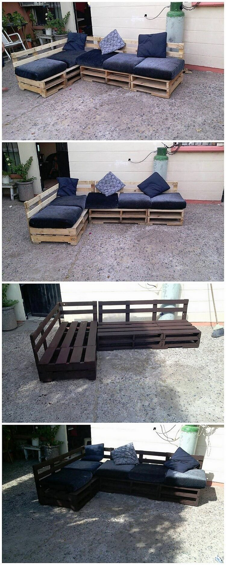 Remarkable Shipping Wood Pallets Recycling Ideas Pallet Wood  # Muebles Con Tarimas