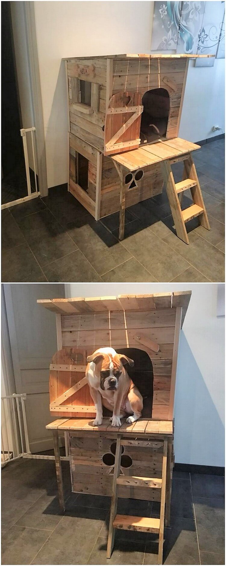 Pallet Dog House Pallet Wood Projects