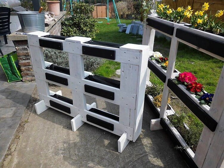 Pallet Planter Creation