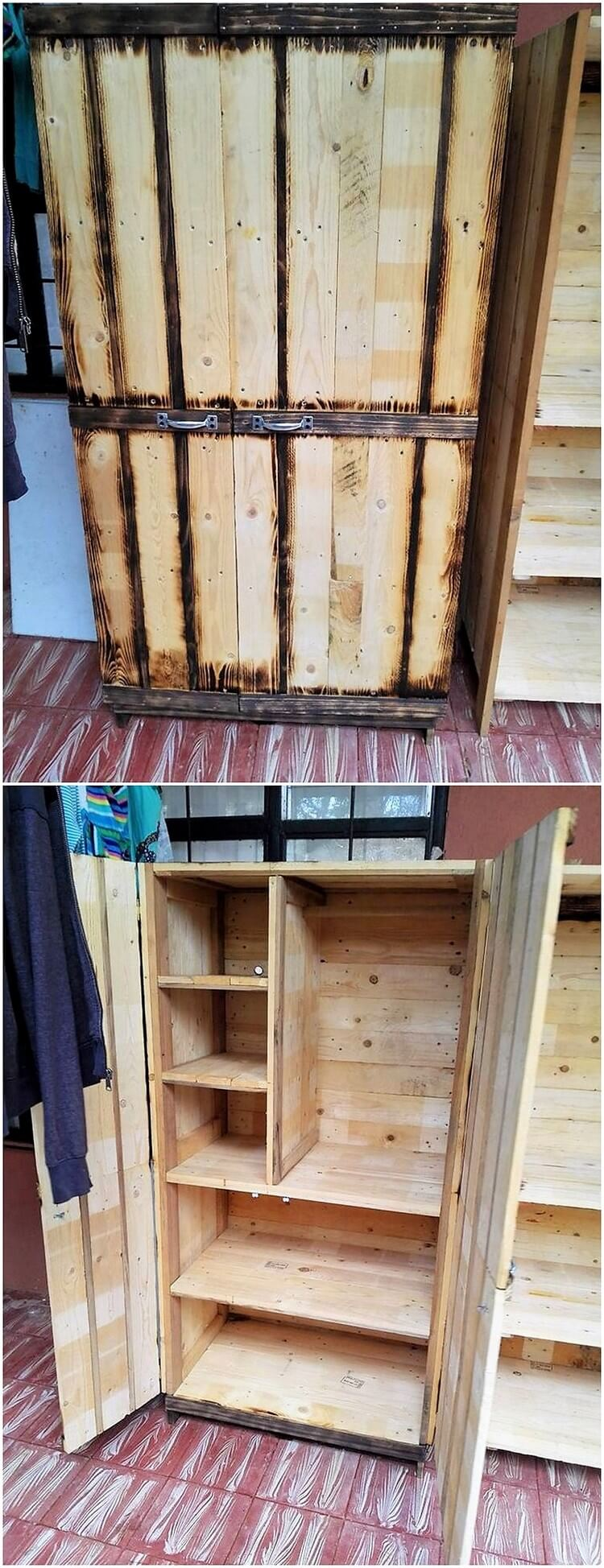 amazing things to make with old wood pallets pallet wood projects. Black Bedroom Furniture Sets. Home Design Ideas