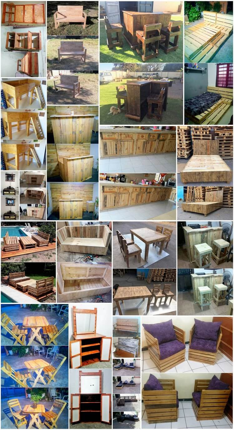 Remarkable Shipping Wood Pallets Recycling Ideas