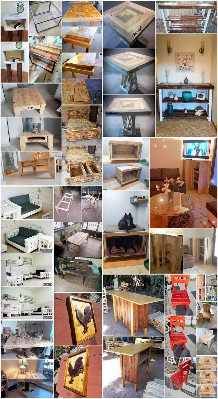 Cheap Ideas for Wood Pallets Upcycling