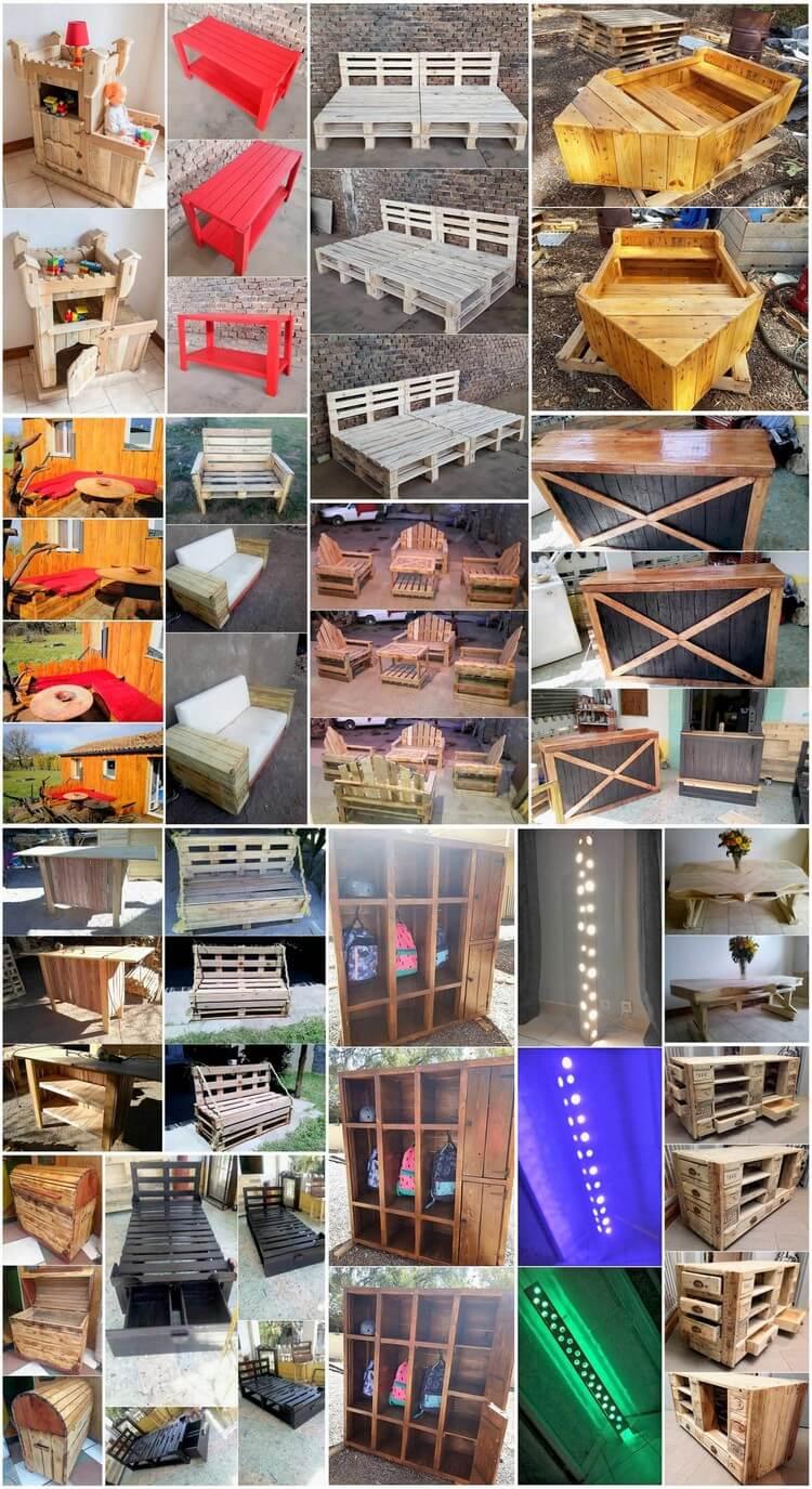 Few Imaginative DIY Ideas for Wood Pallets Reusing