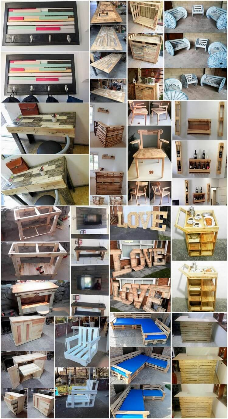 Incredible Ideas for Upcycling Shipping Wood Pallets
