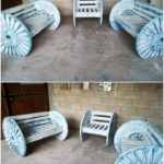 Pallet Benches and Chair