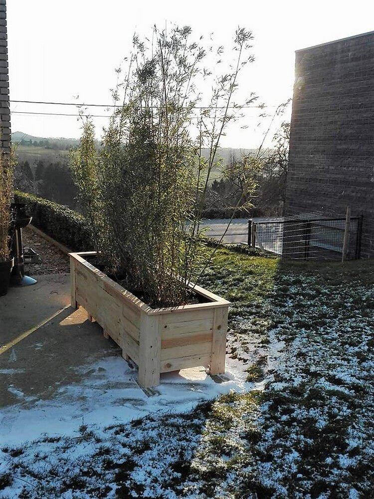 Pallet Garden Planter