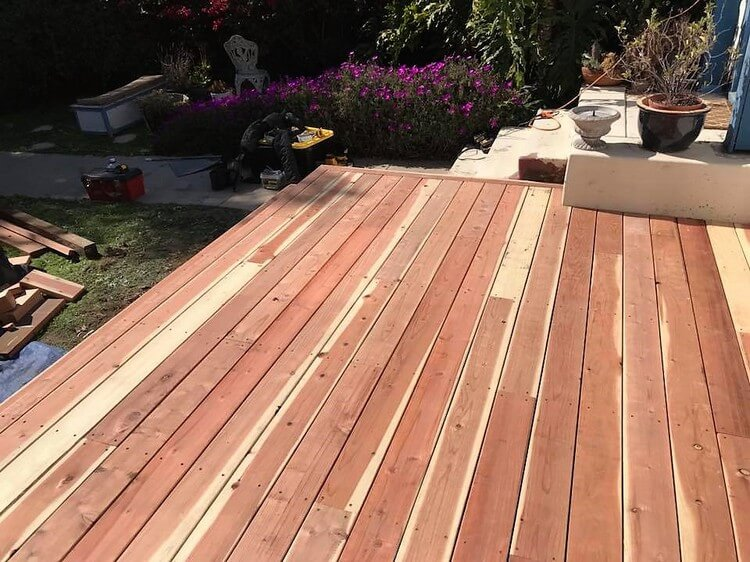 Pallet Garden Terrace Project