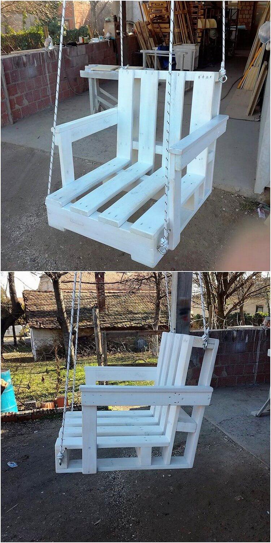 Pallet Swing Chair