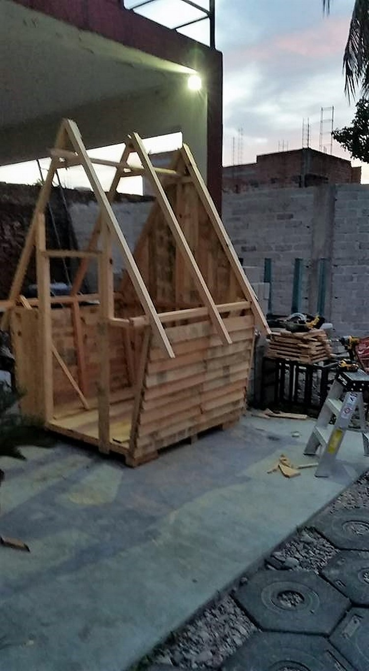 Pallet Wooden House