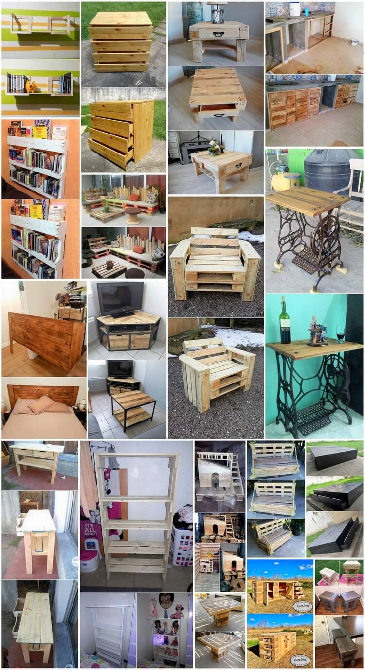Surprising DIY Wood Pallet Recycling Plans