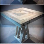 Unique Wood Pallet Table