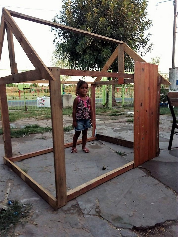 Wooden Pallet Play house