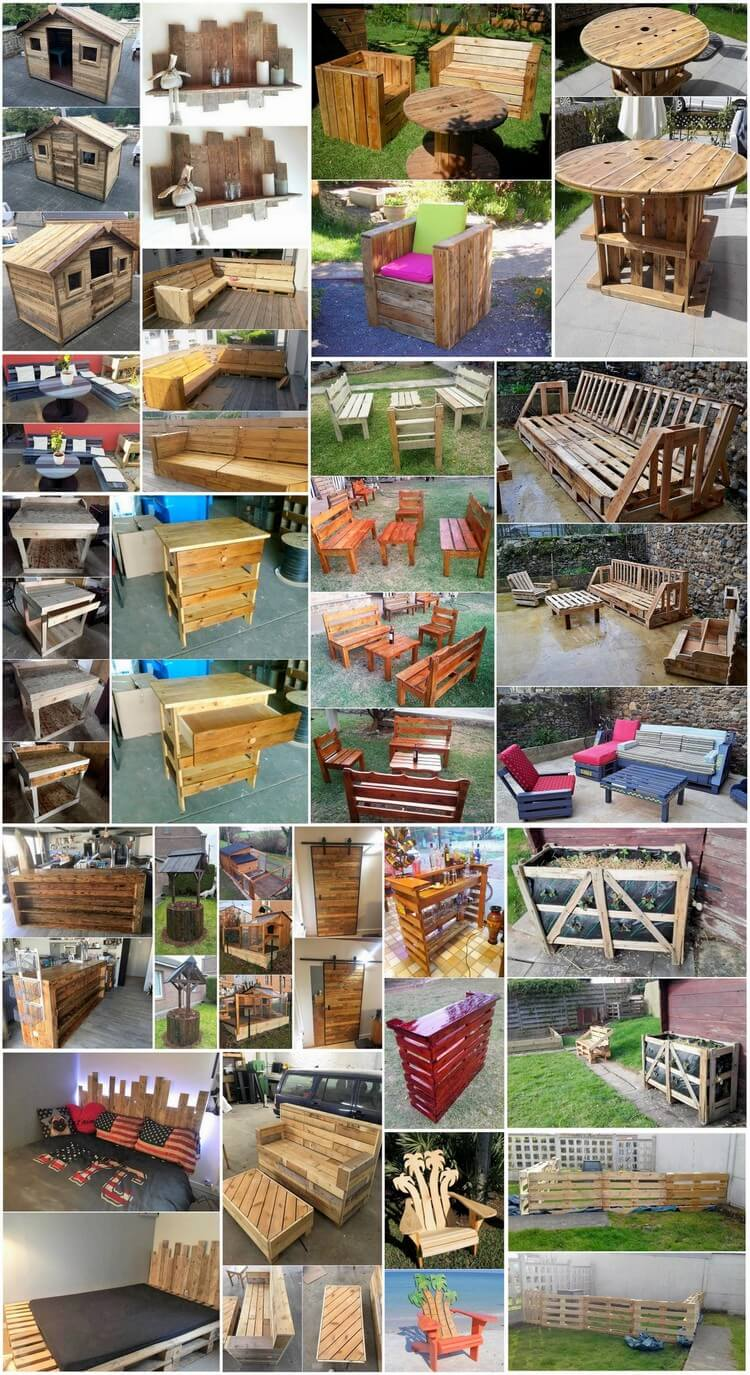 Adorable and Distinctive Recycled Wood Pallet Projects
