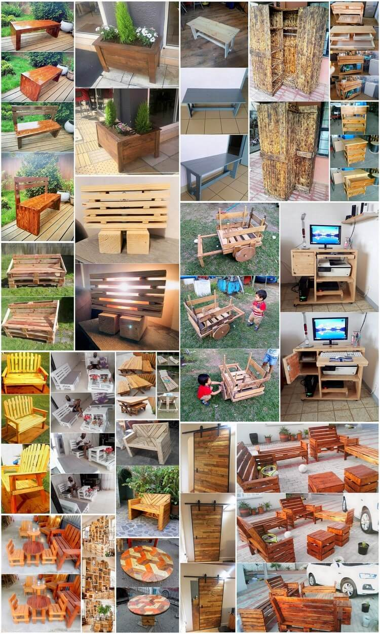Amazing Crafting Ideas with Old Wood Pallets