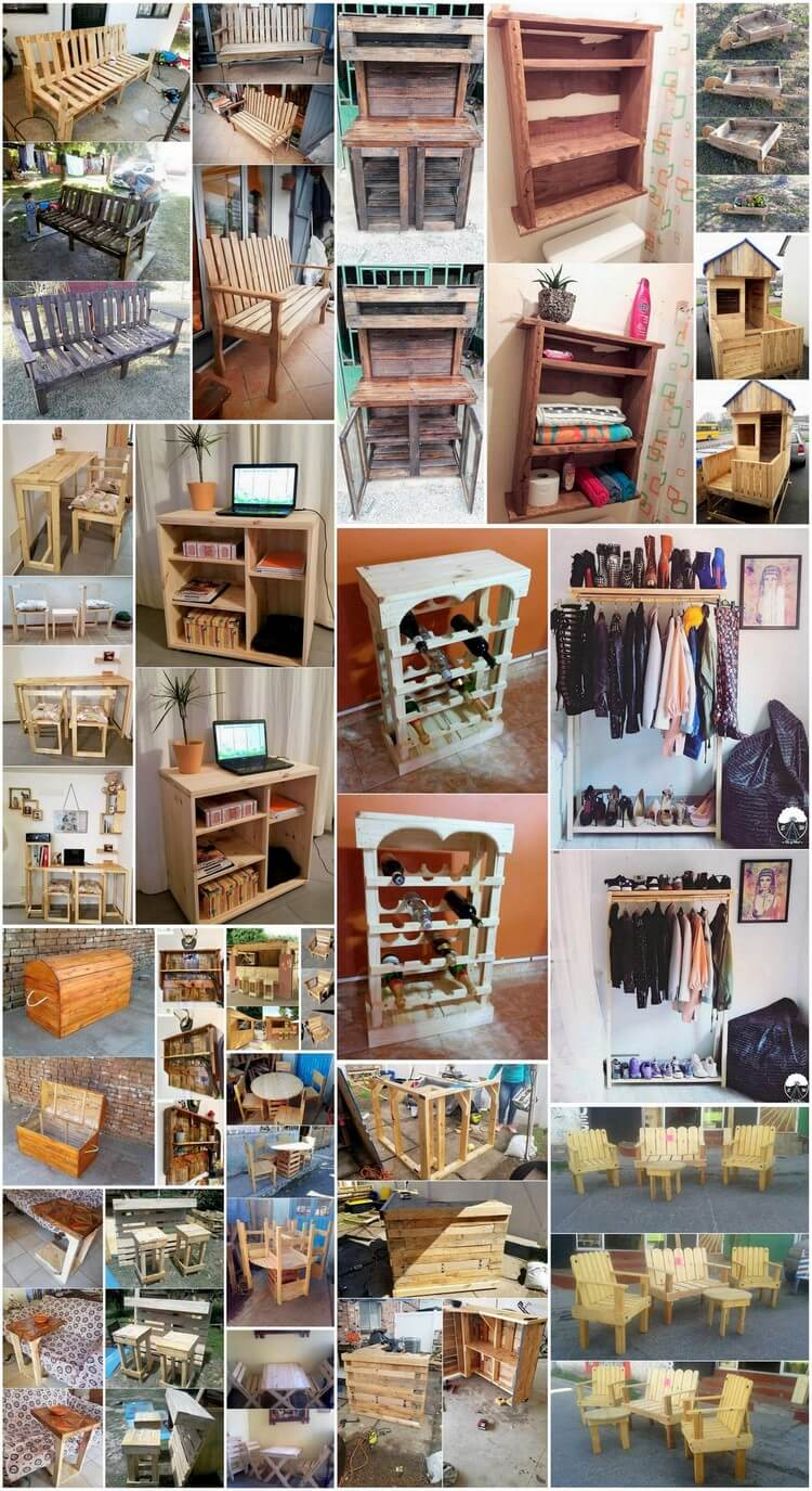 Astonishing Wood Shipping Pallets Repurposing Ideas