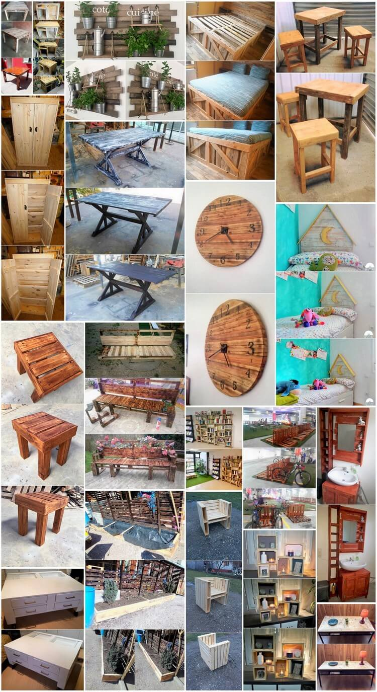 Creative Plans for Wood Pallets Upcycling