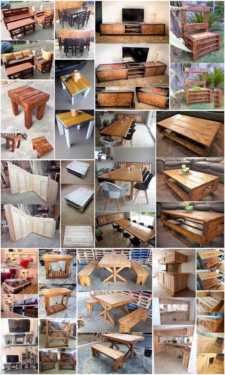 Creative and Brilliant Ideas for Wood Pallet Projects
