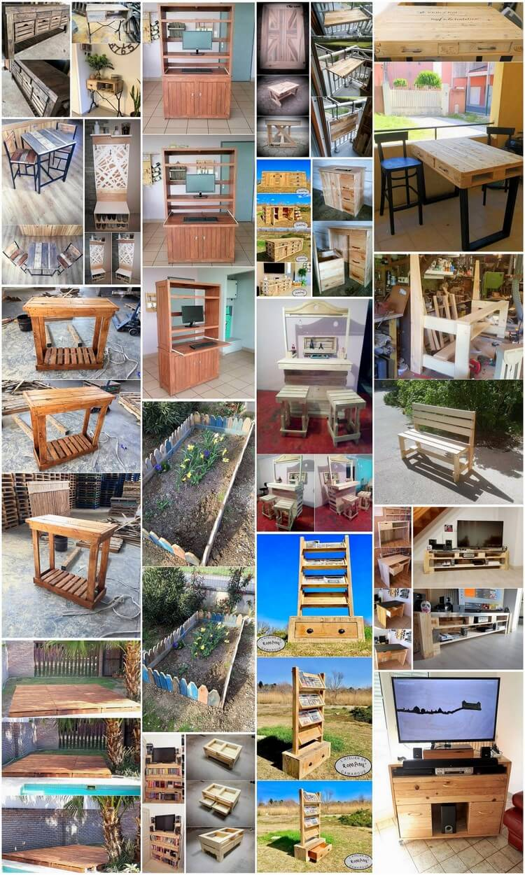 Enchanting Wood Pallets Recreational Ideas