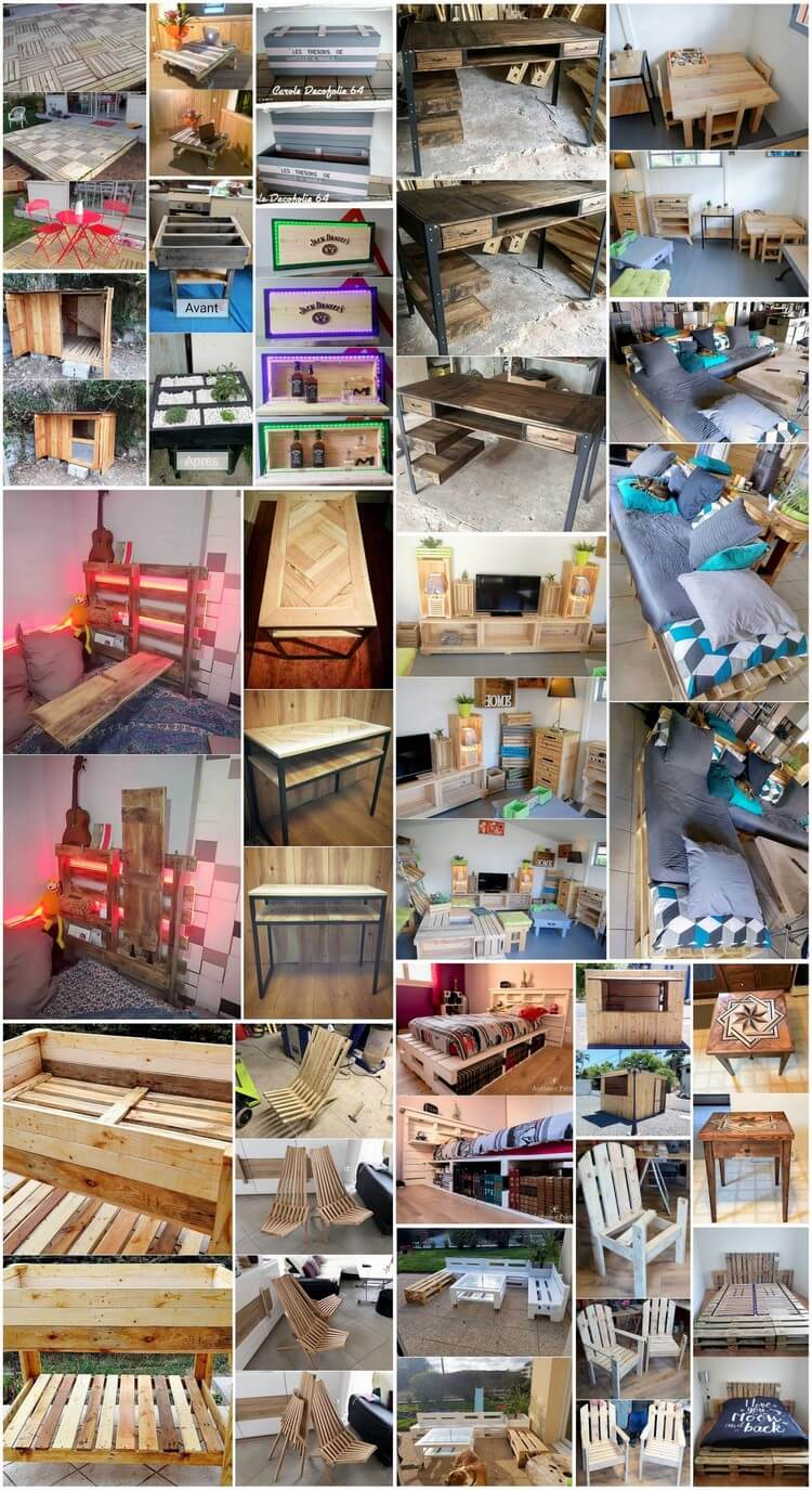 Experimental Unused Wood Pallet Projects