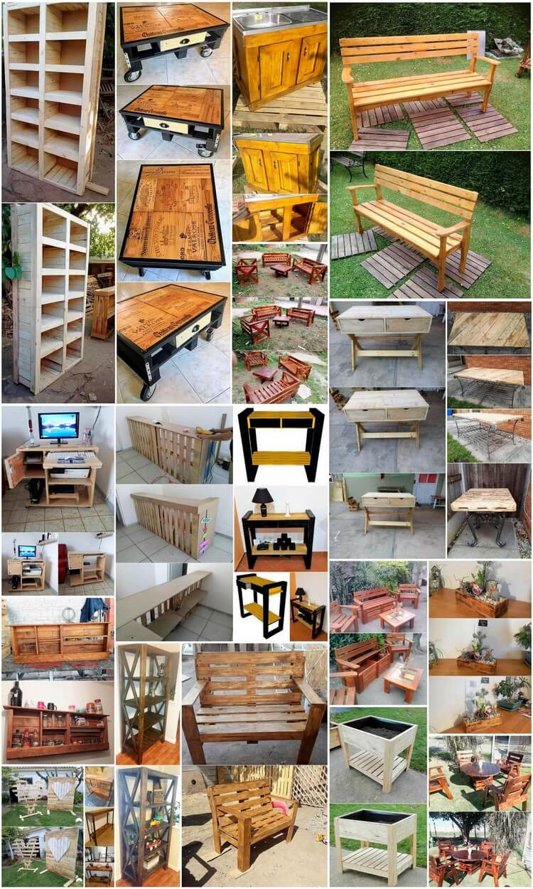 Impossible Ideas Assembled with Wood Pallets