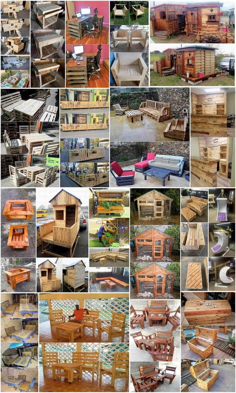 Improbable Things Made with Recycled Pallets