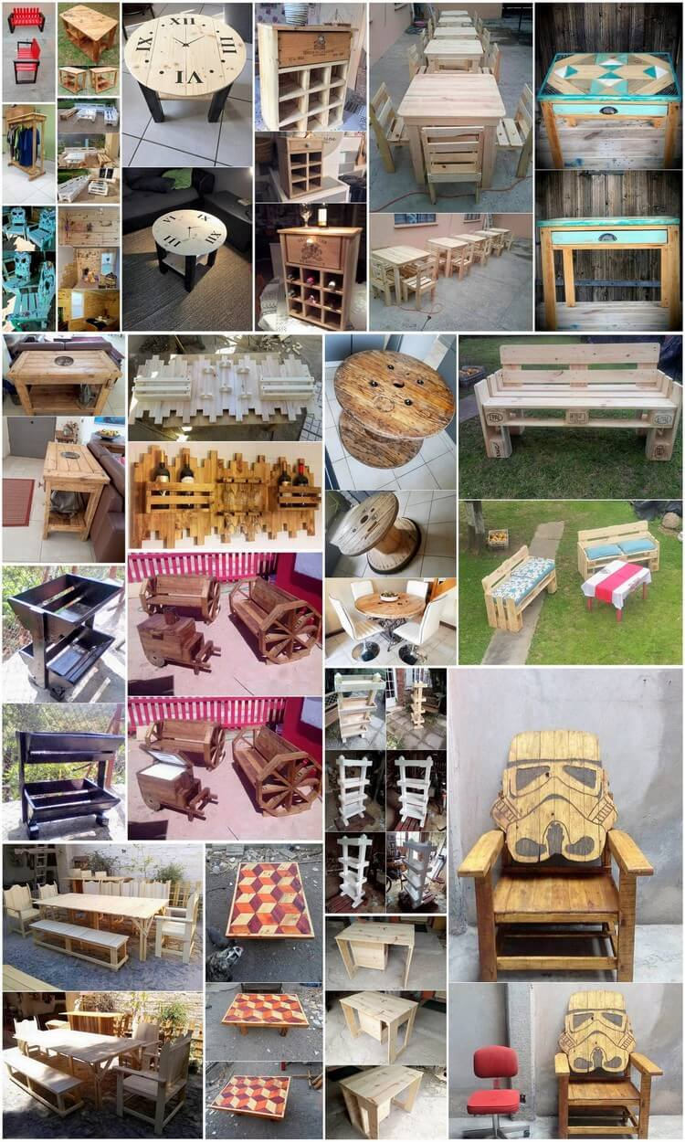 Latest and Genius Ideas of Wood Pallet Furniture