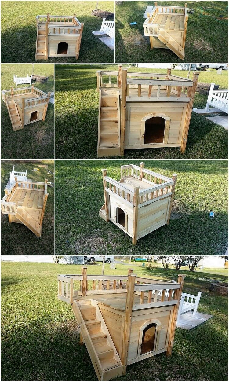 Low Cost DIY Wood Pallet Dog House